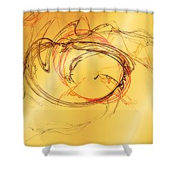 Fragile Not Broken Shower Curtain