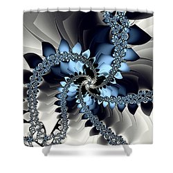 Fragments Shower Curtain by Kevin Trow