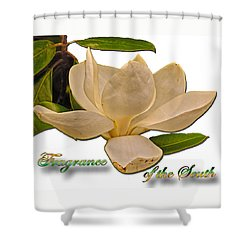 Fragrance Of The South Shower Curtain by Larry Bishop