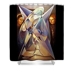 Frames Mover Or Light Fighter Shower Curtain