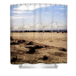 Frames Shower Curtain