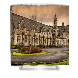 Franciscan Friary Shower Curtain by Adrian Evans