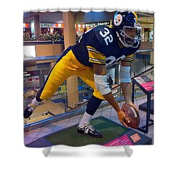 Franco's Immaculate Reception Shower Curtain