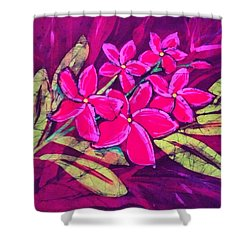 Frangipani Shower Curtain