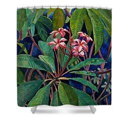 Frangipani Shower Curtain