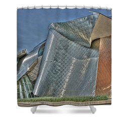 Frank Gehry At Case Western U Shower Curtain