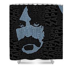 Frank Zappa  Shower Curtain by Tony Rubino