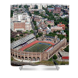 Franklin Field University City Pennsylvania Shower Curtain by Bill Cobb