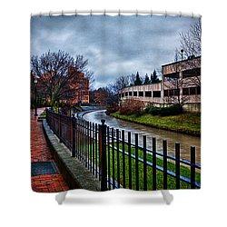 Franklin Park Shower Curtain by Everet Regal