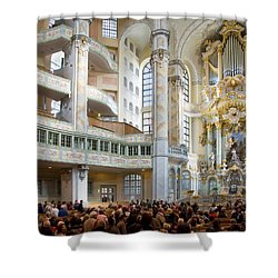 Frauenkirche Shower Curtain