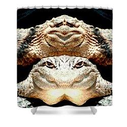 Love Them Freaky Florida Gators Shower Curtain