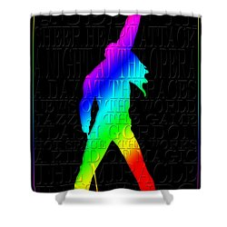 Freddie Mercury 2 Shower Curtain