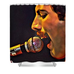 Freddie Mercury Series 2 Shower Curtain