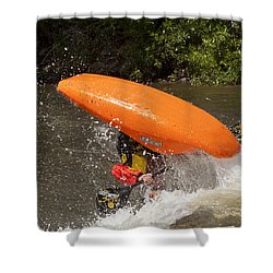 Shower Curtain featuring the photograph Free Style Freedom by Daniel Hebard