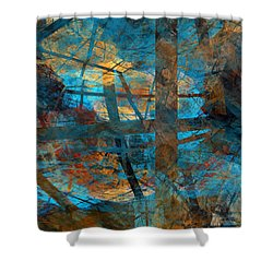 Free Your Mind  Shower Curtain