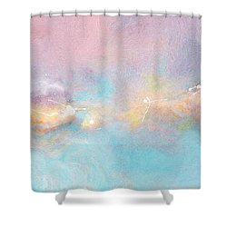 Freedom - Abstract Art Shower Curtain by Jaison Cianelli