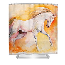 Freedom Shower Curtain by Tamer and Cindy Elsharouni
