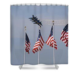 Freedom Flying Shower Curtain