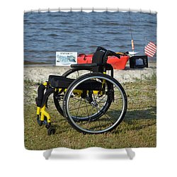 Freedom Isn't Free Shower Curtain by Jeff at JSJ Photography