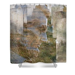 Freedom Shower Curtain by Jim Cook