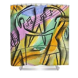 Freedom Shower Curtain by Leon Zernitsky