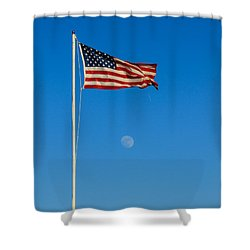Freedom Shower Curtain by Robert Bales