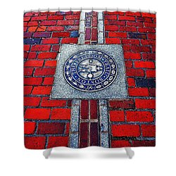 Freedom Trail Shower Curtain by Benjamin Yeager