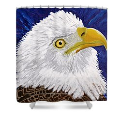Freedom's Hope Shower Curtain by Vicki Maheu