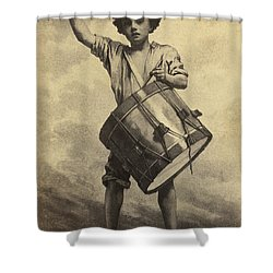 Freemen To Arms Shower Curtain by Paul W Faust -  Impressions of Light