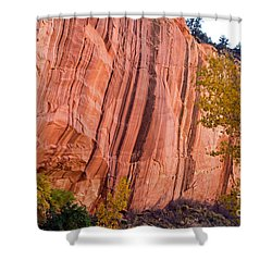 Fremont River Cliffs Capitol Reef National Park Shower Curtain