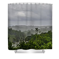 French Broad River Shower Curtain by Carolyn Marshall
