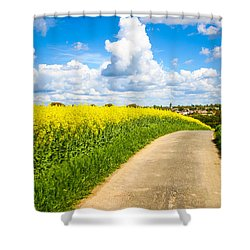 French Countryside Shower Curtain