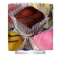 French Fancies Shower Curtain