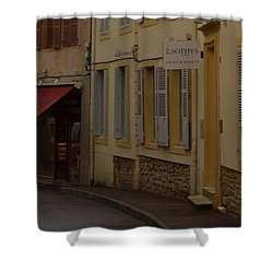 French Laneway Shower Curtain