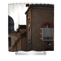 French Living Shower Curtain