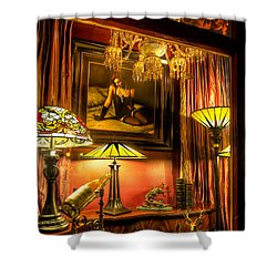 French Quarter Ambiance Shower Curtain