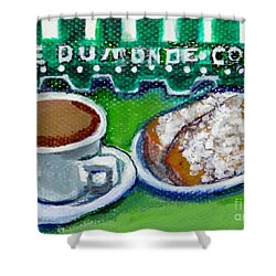 French Quarter Delight Shower Curtain by Ecinja