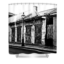 French Quarter Study 1 Shower Curtain
