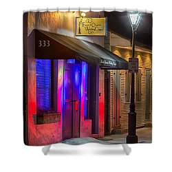 French Quarter Wedding Chapel Shower Curtain
