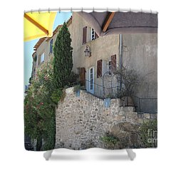 French Riviera - Ramatuelle Shower Curtain by HEVi FineArt