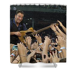 Frenzy At Fenway Shower Curtain