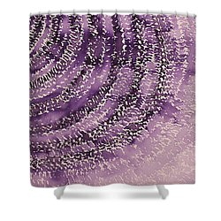 Frequency Increase Original Painting Sold Shower Curtain by Sol Luckman