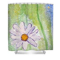 Fresh As A Daisy 1. Shower Curtain by Elvira Ingram