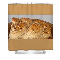 Fresh Challah Bread Art Prints Shower Curtain
