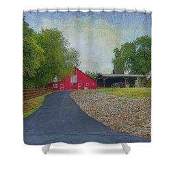 Shower Curtain featuring the photograph Fresh Country Charm by Liane Wright