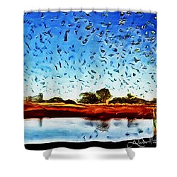 Fresh Mill Shower Curtain