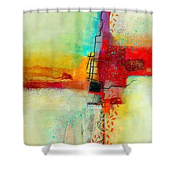 Fresh Paint #2 Shower Curtain by Jane Davies