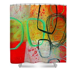 Fresh Paint #3 Shower Curtain by Jane Davies