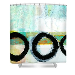 Fresh Paint #4 Shower Curtain by Jane Davies