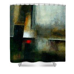 Fresh Paint #7 Shower Curtain by Jane Davies